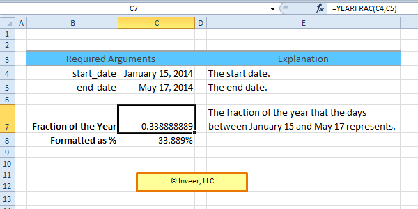 Vba Worksheetfunction Yearfrac Livinghealthybulletin. Yearfrac Excel Date And Time Function. Worksheet. Excel Vba Worksheetfunction Days360 At Mspartners.co